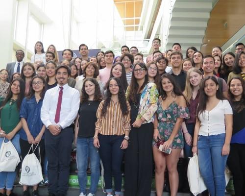 49 estudiantes extranjeros cursarán estudios en la Universidad San Sebastián como parte de las alianzas de intercambio y movilidad internacional.