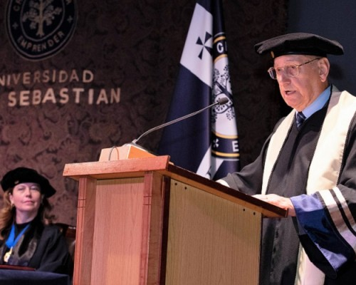 Mateo Martinic recibió grado de Doctor Scientiae et Honoris Causa