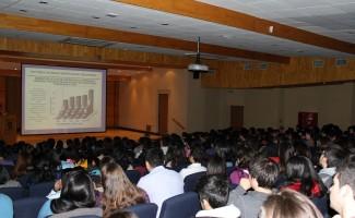 Trescientos cincuenta asistentes de diferentes casas de estudios registró la actividad, posible gracias a un Fondo Concursable de DAE.