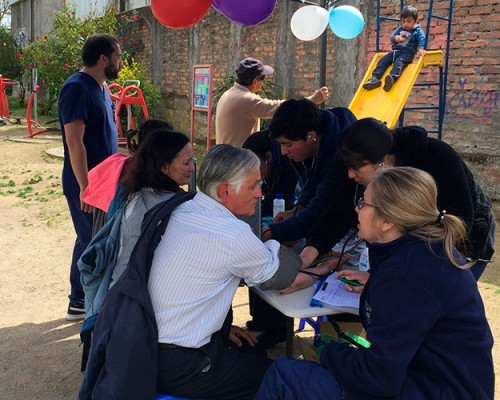 Proyecto Trabajando en Comunidad se inició en cerro La Pólvora de Concepción