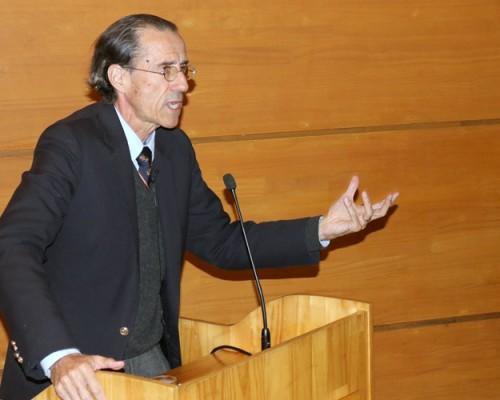 Rector de la Universidad San Sebastián inició Ciclo de Humanismo Cristiano en la sede Concepción.