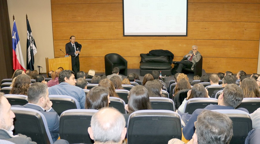 Rector USS sostuvo diversas reuniones en su visita a sede Concepción