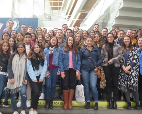 54 jóvenes, procedentes de 6 países, vivirán su experiencia de intercambio en la Universidad San Sebastián.