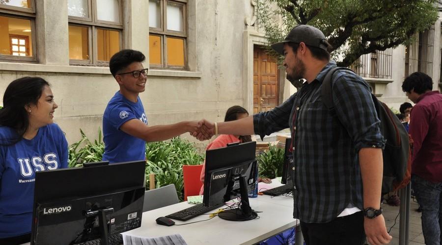 Santiago dio la Bienvenida a los nuevos estudiantes USS
