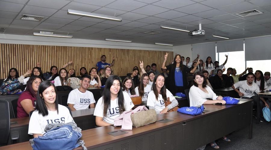 Santiago dio la Bienvenida a los nuevos estudiantes USS10