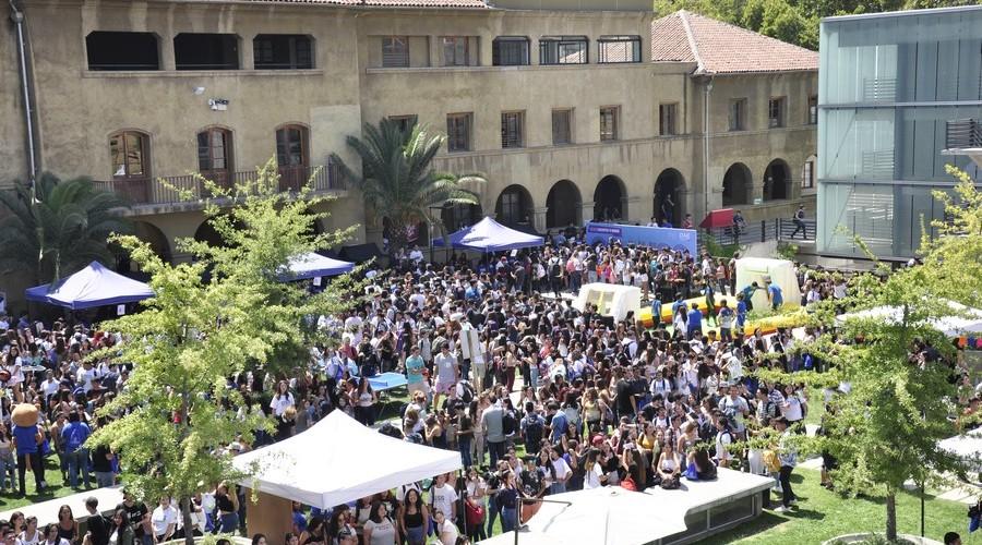 Santiago dio la Bienvenida a los nuevos estudiantes USS12