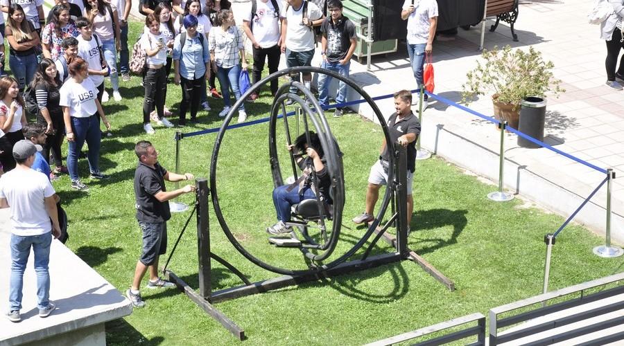 Santiago dio la Bienvenida a los nuevos estudiantes USS13
