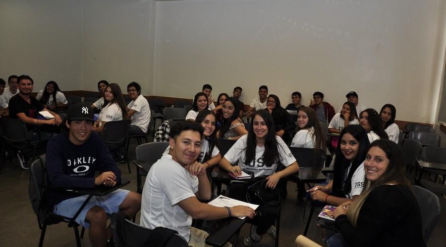 Santiago dio la Bienvenida a los nuevos estudiantes USS8