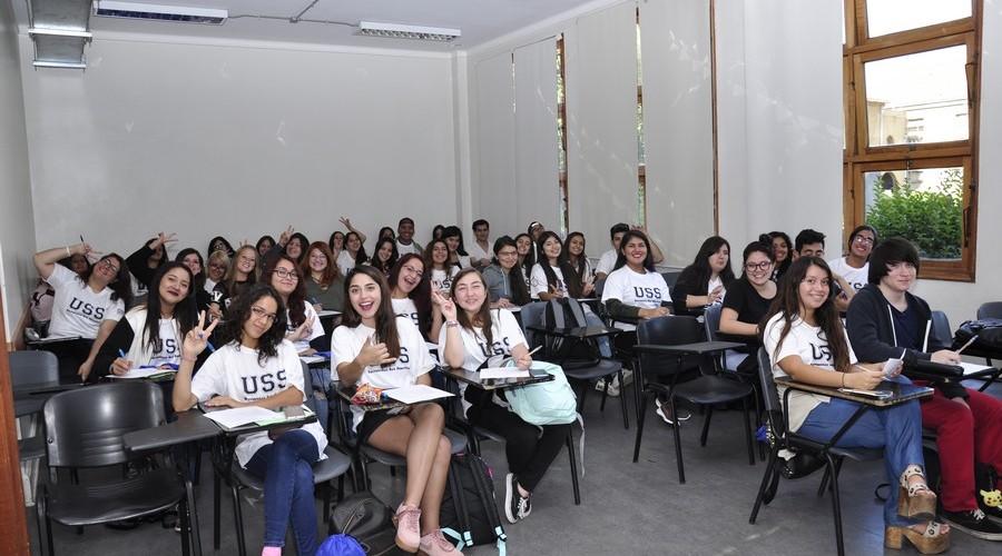 Santiago dio la Bienvenida a los nuevos estudiantes USS9