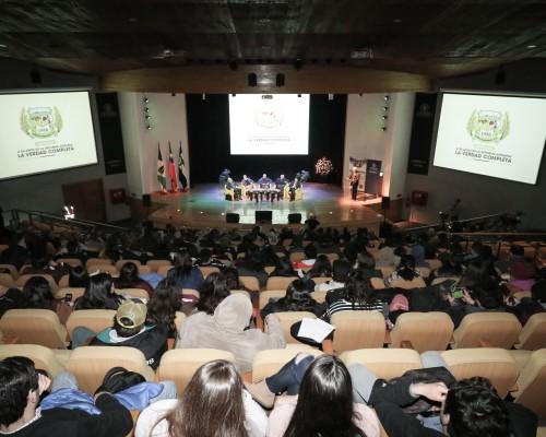 Más de 250 personas asistieron al seminario desarrollado en la Sede De la Patagonia de la U. San Sebastián.