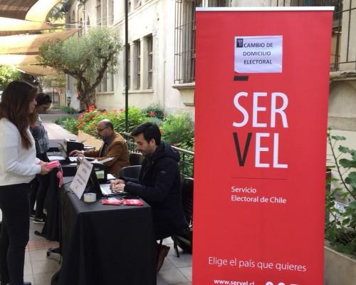 Alianza Servel y DAE permitió a estudiantes cambiar su domicilio electoral