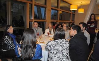 La reunión de la Red de Egresados se efectuó en el Faculty del Casino Los Queules.