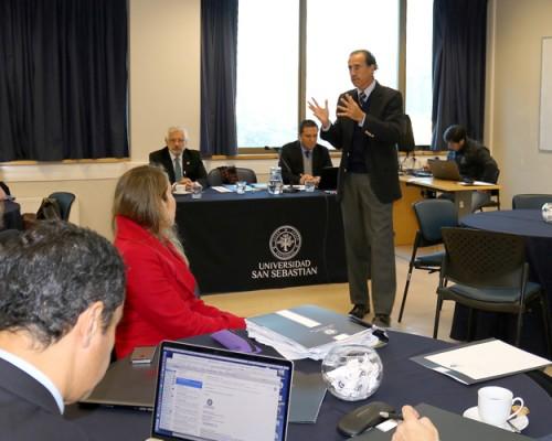 Carlos Williamson, rector de la Universidad San Sebastián.