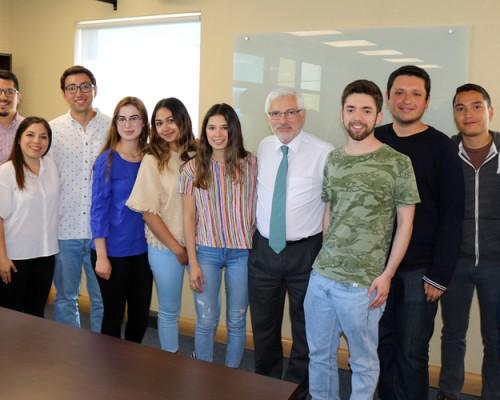 De la Universidad de Sonora fueron los estudiantes extranjeros de intercambio del 2do semestre.