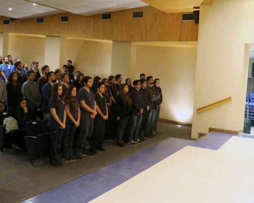 En una solemne ceremonia, 14 centros de estudiantes asumieron sus funciones en la USS Concepción.
