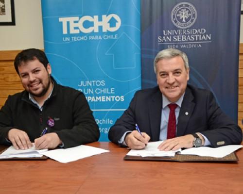 Para los integrantes de la Fundación Techo-Chile se considera beneficios en arancel para programas de estudios