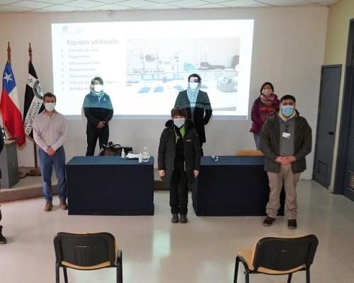 USS analiza respirabilidad de mascarillas en recintos de salud de Los Lagos