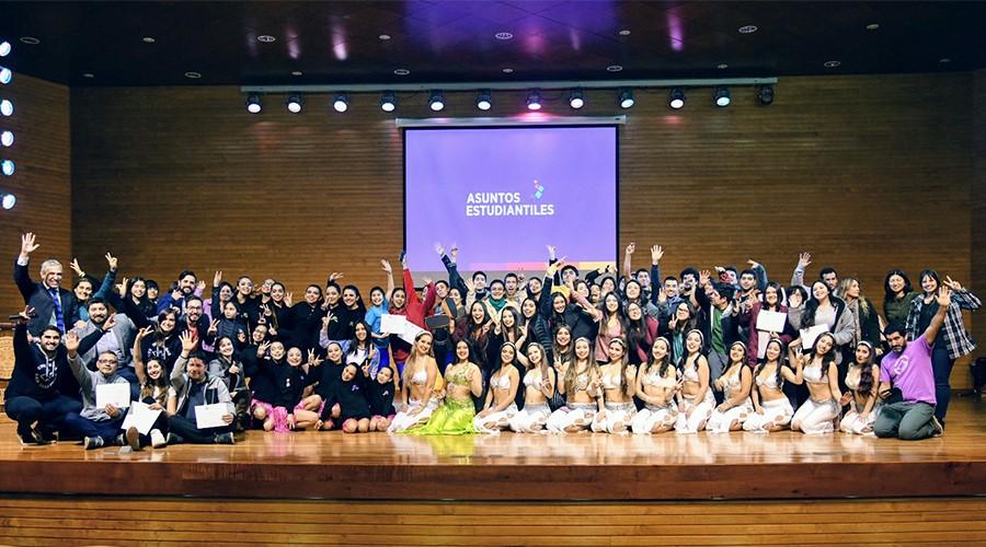Estudiantes de la USS participaron de gala artística y cultural