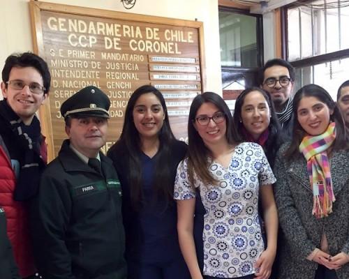 Voluntariado de la Sociedad de Egresados de la USS Concepción en Centros de Gendarmería contó con apoyo de Red de Egresados de la sede.