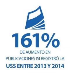 Aumento publicaciones ISI