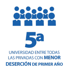 5 universidad entre las privadas