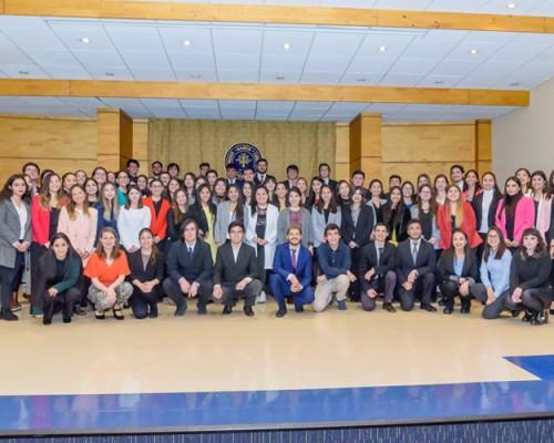 Excelencia académica de sus estudiantes es reconocida por la USS CONCEPCION