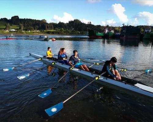 En las aguas del Canal de Tenglo se realizará esta novedosa competencia.