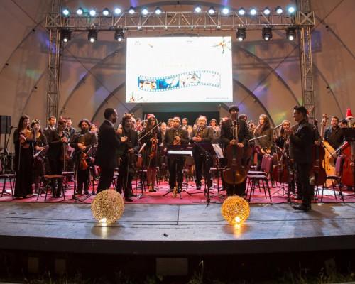 Actuación en el Anfiteatro de San Pedro de la Paz.