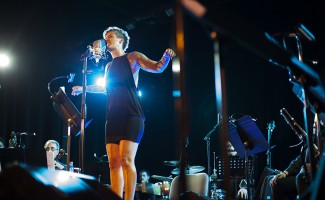 María Jimena Pereyra se sumó a este desafío y homenajeó con su voz a Gustavo Cerati.