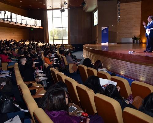 En el Aula Magna de la Sede Valdivia se inició el III Congreso de Educación de Los Ríos.