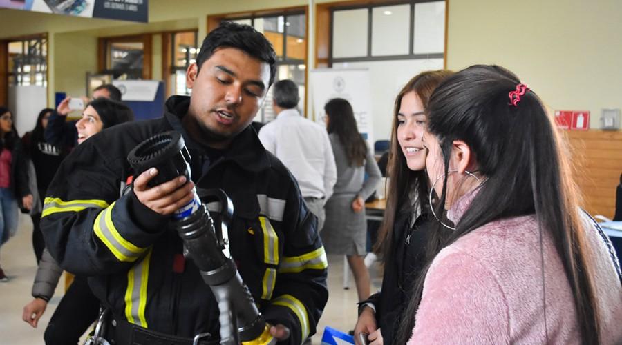 Estudiantes USS se informaron sobre protocolos de seguridad en Puerto Montt