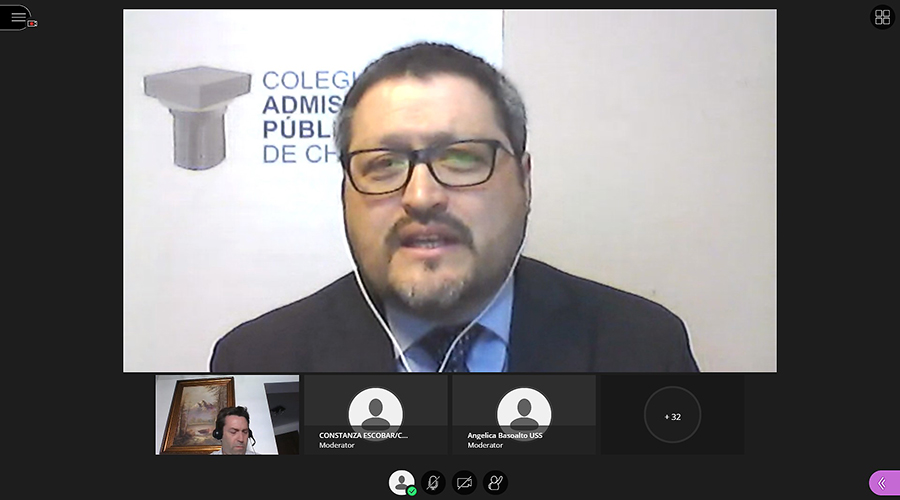 Administración Pública de sede Concepción celebró su Día con charla