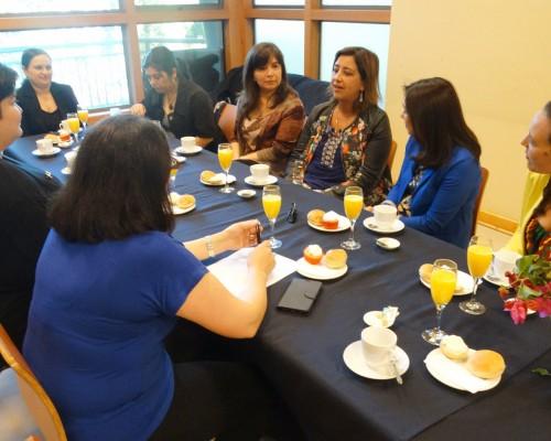 La reunión-desayuno tuvo lugar en dependencias del Campus Las Tres Pascualas.
