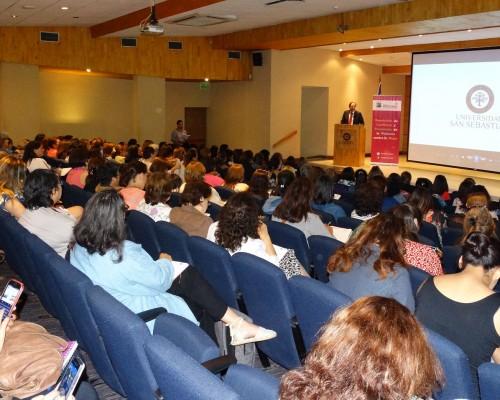 La primera sesión del programa contó con la presencia de Rafael Rosell, decano de Derecho y Ciencias Sociales USS.
