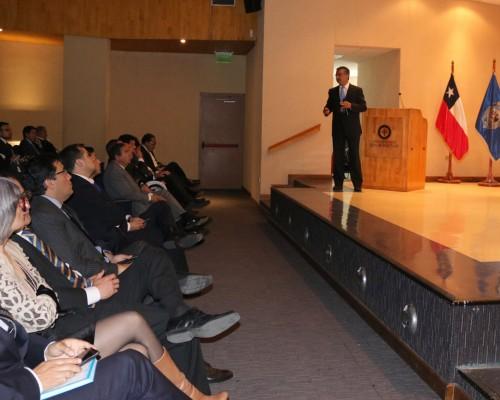 Presentación de Fernando Uribe, comisario de la PDI Concepción.