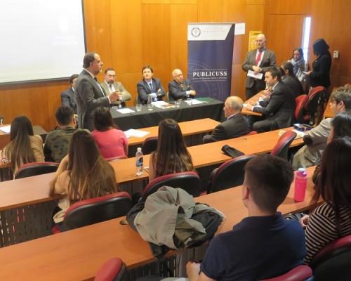 Con este hito, los académicos y docentes de Derecho USS serán parte del proceso de perfeccionamiento orientado a los alumnos de la Academia Judicial de Chile.