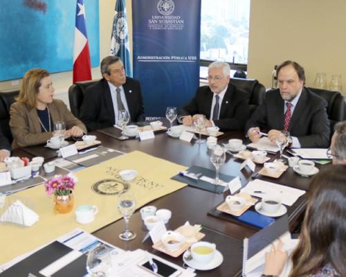 USS Concepción realizó primera reunión de Consejo Consultivo de Administración Pública.