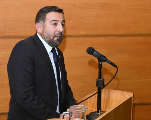 Derecho de la USS Concepción convocó a una conferencia sobre criminalística para la comunidad académica.