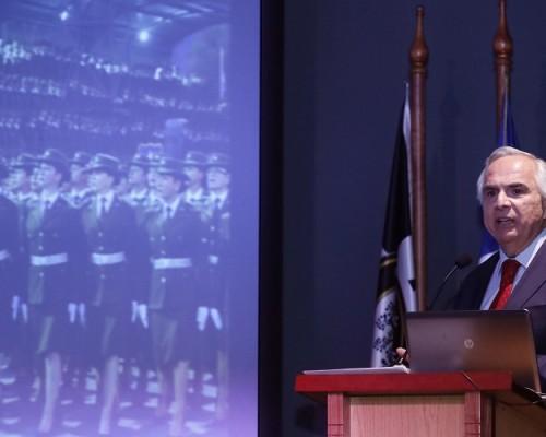 El Ministro del Interior y Seguridad Pública, Andrés Chadwick, habló sobre los avances en seguridad impulsados desde el Ejecutivo.