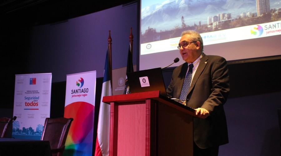 Universidad San Sebastián acogió seminario regional sobre victimización