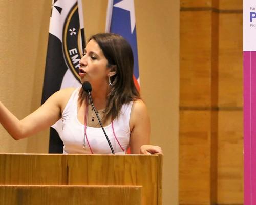 Saludo de Carolina Toro, directora ejecutiva de PRODEMU Biobío.