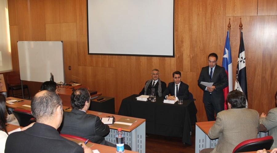 IDEJ USS realizó conferencia con destacado jurista internacional