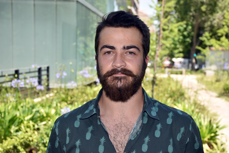 Gerardo León estudiante IECO segundo año