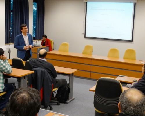 Gonzalo Morales, consultor previsional, fue el invitado por las carreras del Programa Modalidad Advance de la FEN.