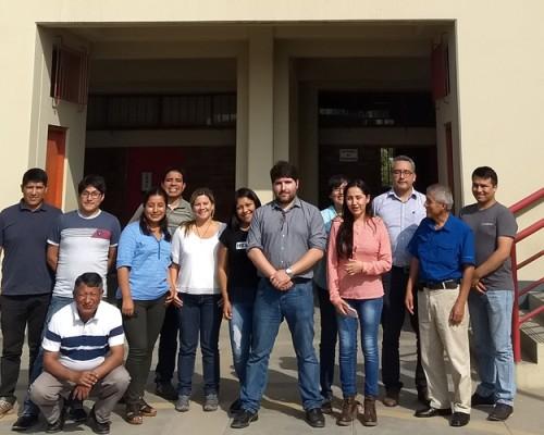 José Ignacio Hernández, académico de Programas Advance USS Concepción, dictó taller en Perú.