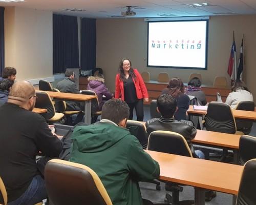 Neuromarketing fue tema de charla de Programas Advance USS Concepción