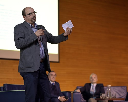 Jan Hinrichs, gerente General de Dragatec S.A, participó del foto de innovación desde las empresas que se desarrolló en el seminario.