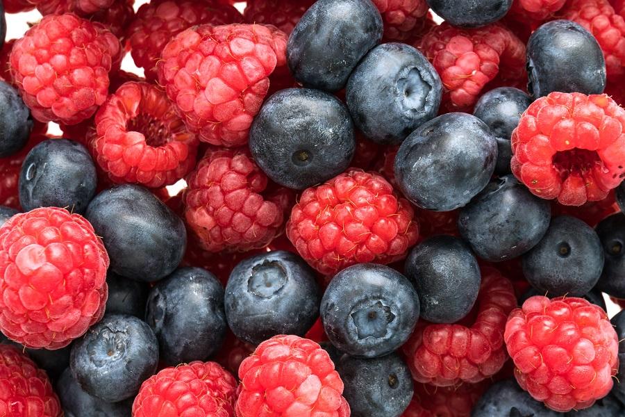Berries ocupan lugar de hionor