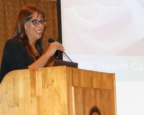 Mariel Reyes es enfermera universitaria de la U. de los Andes