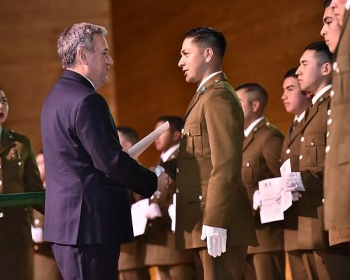 """El Vicerrector USS Valdivia, Angelo Romano, participó en la ceremonia de cierre del proyecto """"Carabineros que Salvan Vidas"""""""